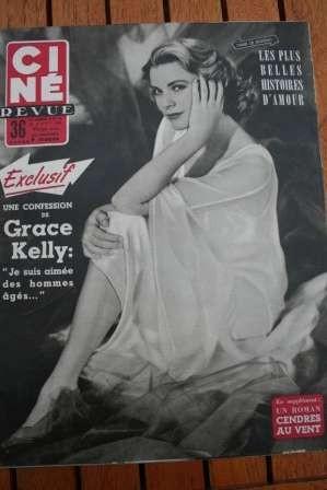 1954 Grace Kelly Marilyn Monroe Gary Cooper Jane Wyman