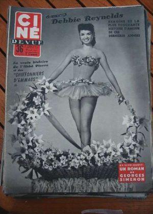 55 Debbie Reynolds Line Renaud Orson Welles Jane Powell