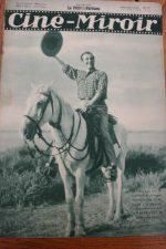 Magazine 1935 Berval Buster Keaton Douglas Fairbanks Brigitte Helm