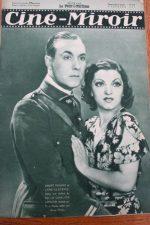 Magazine 1935 Andre Roanne Clive Brook Madeleine Carroll Brigitte Helm