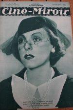 Magazine 1935 Gaby Morlay Paul Lalloz Cartouche Charles Boyer Gary Cooper