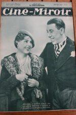 Magazine 1935 Fernandel Thelma Todd Katharine Hepburn Joan Bennett Mistinguett