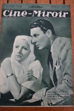 Magazine 1935 Greta Garbo George Brent Abel Gance Napoléon Laurel And Hardy