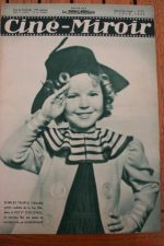 Magazine 1935 Shirley Temple Edwige Feuillère Fay Wray Ralph Bellamy