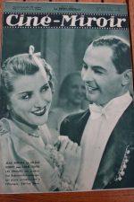 Magazine 1935 Loretta Young Henry Wilcoxon The Crusades Trude Marlen