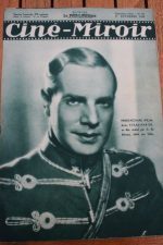 Magazine 1935 Pierre Richard Willm Fred Mac Murray Madge Evans Annabella