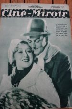 Magazine 1935 Grace Moore Robert Allen Louis Lumiere Maurice Chevalier