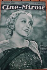 Magazine 1935 Florelle Sacha Guitry Claude Dauphin Richard Cromwell Milton
