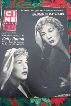 1955 Betty Hutton Audrey Hepburn Tcherina Alan Ladd