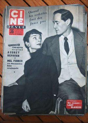 Audrey Hepburn Ginger Rogers Gene Tierney Grace Kelly