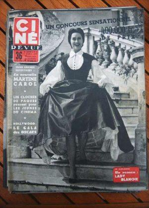 1955 Marilyn Monroe Martine Carol Jane Powell Guitry