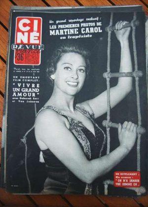 55 Martine Carol Victor Mature Van Johnson Deborah Kerr