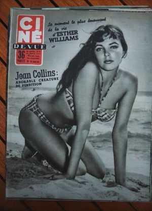 1955 Joan Collins Esther Williams S Granger Dawn Addams