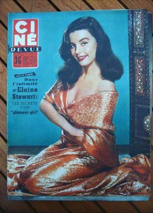 1955 Elaine Stewart Richard Widmark Grace Kelly Greco