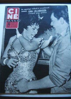 1955 Gina Lollobrigida Don Camillo Spencer Tracy Darvi