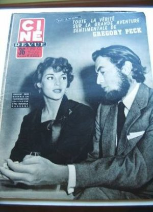 1955 Gregory Peck Lollobrigida Grace Kelly Debra Paget