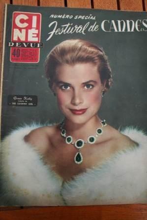 1955 Grace Kelly Jane Russell James Dean Liz Taylor