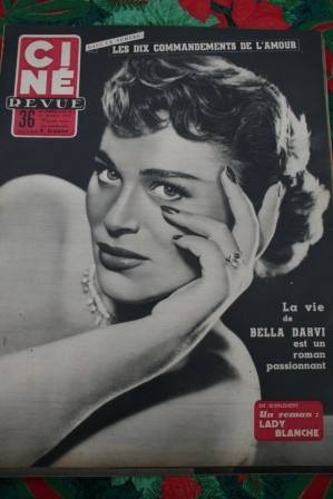 Bella Darvi Dianne Foster Betty Grable Calamity Jane