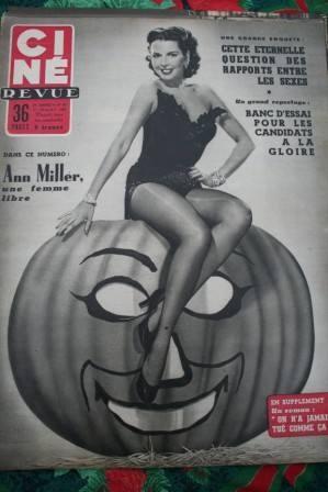 1955 Ann Miller James Dean Debbie Reynolds Errol Flynn