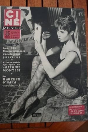 Brigitte Bardot Grace Kelly Tyrone Power Susan Hayward
