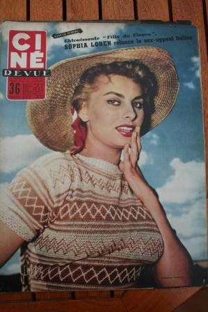 Sophia Loren Georges Guetary Lauren Bacall Lucia Bose