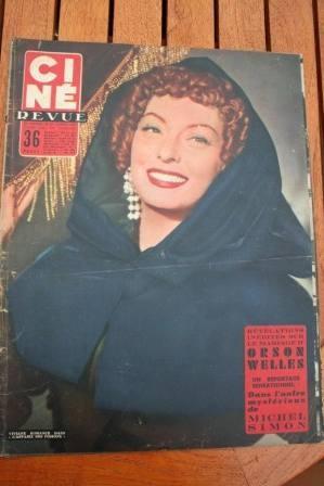 1955 Orson Welles Glenn Ford Sophia Loren Betta St John