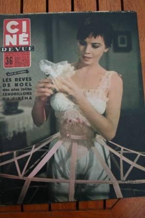 1955 Leslie Caron Grace Kelly Audrey Hepburn Doris Day
