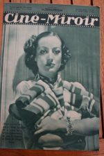 Magazine 1936 Joan Crawford Robert Montgomery Joe E. Brown James Cagney