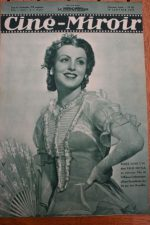 Magazine 1936 Renee Saint Cyr Simone Simon Jean-Pierre Aumont Madeleine Guitty