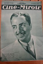 Magazine 1936 William Powell Rosalind Russell Shirley Temple Jean Servais