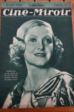 Magazine 1936 Claude May Danielle Darrieux Loretta Young Franchot Tone