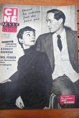 Audrey Hepburn Mel Ferrer Ginger Rogers Jacques Sernas