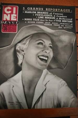 1955 Gary Cooper Burt Lancaster Vivien Leigh Glenn Ford