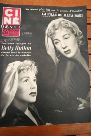 Betty Hutton Yoko Tani Erno Crisa Alan Ladd Line Renaud