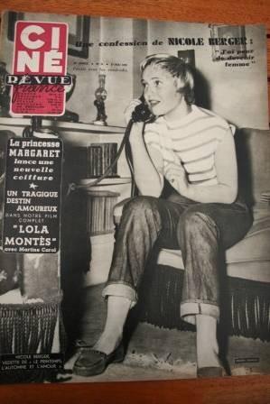 Nicole Berger Festival Cannes Lana Turner Lola Montes