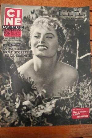 Sophia Loren Sacha Guitry Janette Scott Odile Versois