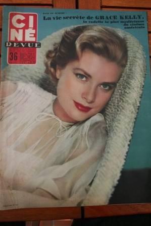 Grace Kelly Jean Marais Giulietta Masina Joan Collins