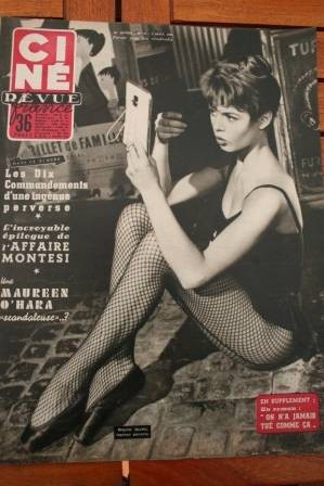 Brigitte Bardot Grace Kelly 20,000 Leagues Under The Se