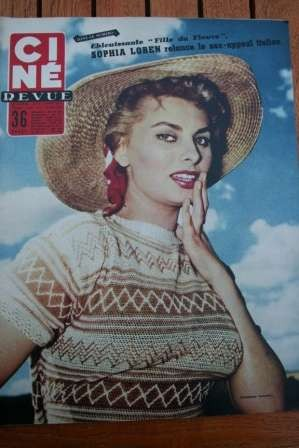 55 Sophia Loren Maria Felix Georges Guetary Lucia Bose