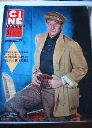 1956 John Wayne Nadia Gray Susan Hayward Mitzi Gaynor