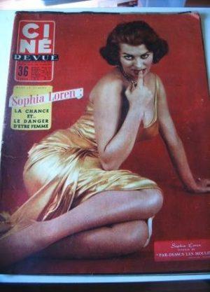 Sophia Loren Ivan Desny Rossana Podesta Charles Boyer