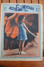 Magazine 1937 Shirley Temple Simone Simon (Centerfold) George Brent