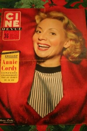 Annie Cordy James Dean Gregory Peck Mamie Van Doren