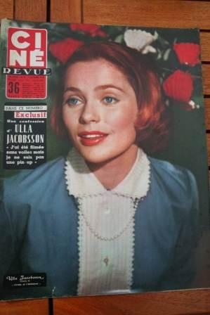 56 Ulla Jacobsson Clark Gable Jean Marais Shirley Jones