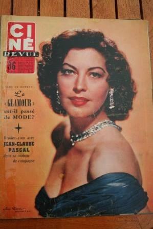 1956 Ava Gardner James Stewart Doris Day Hitchcock