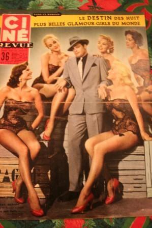 1956 Marlon Brando Jean Simmons Jean Marais Don Murray