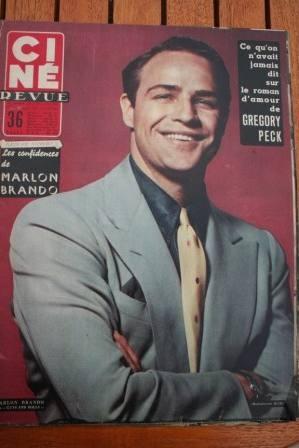 Marlon Brando Frank Sinatra Rossana Podesta Doris Day