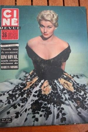 1956 Kim Novak Tab Hunter Rosalind Russell Rossi Drago
