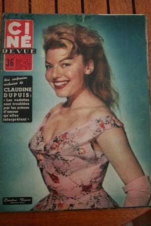 Claudine Dupuis Fess Parker Frank Sinatra Tender Trap