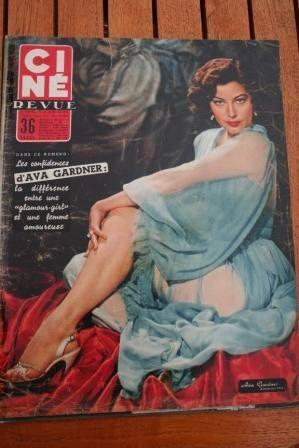 56 Ava Gardner Audie Murphy Olivia De Havilland Monroe